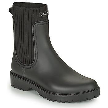 Παπούτσια Γυναίκα Μπότες βροχής Unisa AYNAR Black