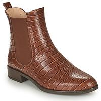 Παπούτσια Γυναίκα Μπότες Unisa BOYER Camel