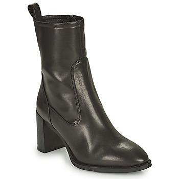 Παπούτσια Γυναίκα Μποτίνια Unisa UNTIL Black