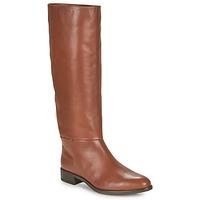 Παπούτσια Γυναίκα Μπότες για την πόλη Unisa BLEND Camel