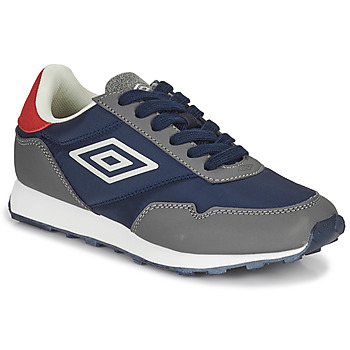 Παπούτσια Παιδί Χαμηλά Sneakers Umbro KARTS LACE Grey / Μπλέ