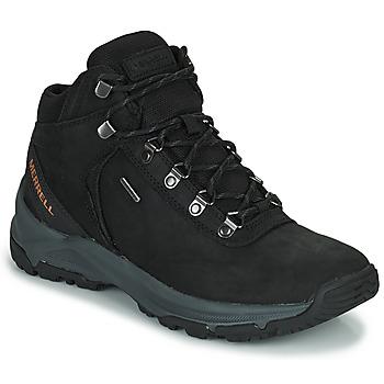 Παπούτσια Άνδρας Πεζοπορίας Merrell ERIE MID LTR WP Black