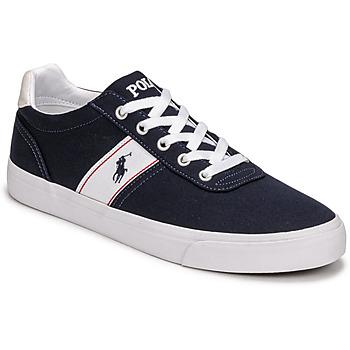 Παπούτσια Άνδρας Χαμηλά Sneakers Polo Ralph Lauren HANFORD RECYCLED CANVAS Marine