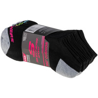 Αξεσουάρ Παιδί Κάλτσες Skechers Boys 6pk No Show Socks Noir