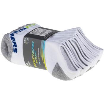 Αξεσουάρ Παιδί Κάλτσες Skechers Boys 6pk No Show Socks Blanc