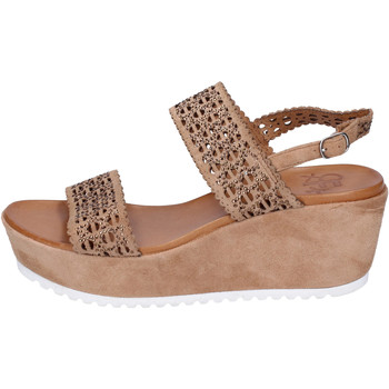 Παπούτσια Γυναίκα Σανδάλια / Πέδιλα Femme Plus Σανδάλια BJ895 καφέ