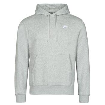 Υφασμάτινα Άνδρας Φούτερ Nike NIKE SPORTSWEAR CLUB FLEECE Grey / Άσπρο