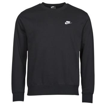 Υφασμάτινα Άνδρας Φούτερ Nike NIKE SPORTSWEAR CLUB FLEECE Black / Άσπρο