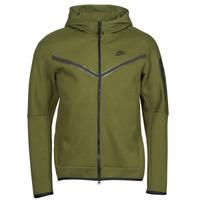 Υφασμάτινα Άνδρας Σπορ Ζακέτες Nike NIKE SPORTSWEAR TECH FLEECE Green / Black