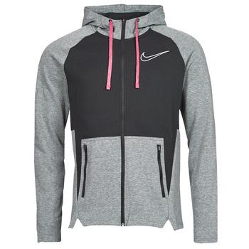 Υφασμάτινα Άνδρας Φούτερ Nike M NK TF HD FZ NVLTY Black / Άσπρο