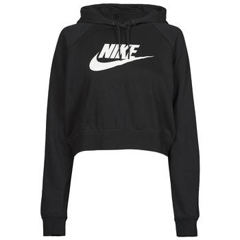 Υφασμάτινα Γυναίκα Φούτερ Nike NIKE SPORTSWEAR ESSENTIAL Black / Άσπρο