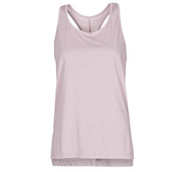 Υφασμάτινα Γυναίκα Αμάνικα / T-shirts χωρίς μανίκια Nike NIKE YOGA Violet