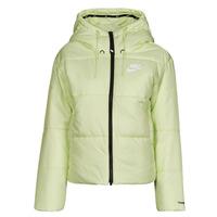 Υφασμάτινα Γυναίκα Μπουφάν Nike W NSW TF RPL CLASSIC TAPE JKT Green / Black / Άσπρο