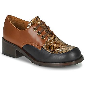 Παπούτσια Γυναίκα Μοκασσίνια Chie Mihara TUDU Brown / Black