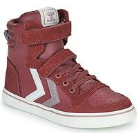 Παπούτσια Κορίτσι Ψηλά Sneakers Hummel SLIMMER STADIL JR Violet