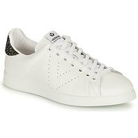 Παπούτσια Γυναίκα Χαμηλά Sneakers Victoria TENIS PIEL Άσπρο / Silver
