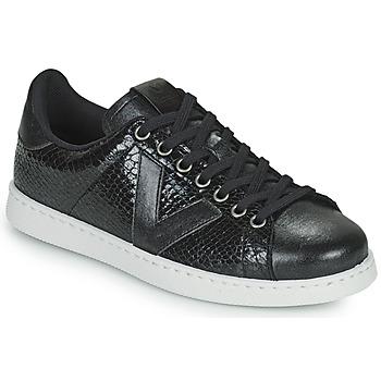 Παπούτσια Γυναίκα Χαμηλά Sneakers Victoria TENIS SERPIENTE Black