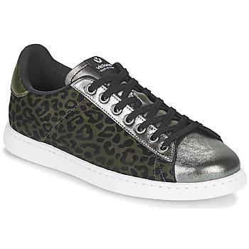 Παπούτσια Γυναίκα Χαμηλά Sneakers Victoria TENIS LEOPARDO Kaki