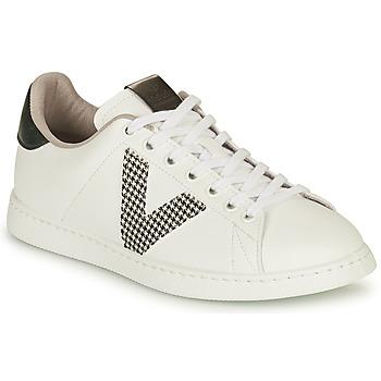 Παπούτσια Γυναίκα Χαμηλά Sneakers Victoria TENIS VEGANA GAL Άσπρο / Grey