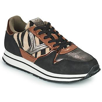 Παπούτσια Γυναίκα Χαμηλά Sneakers Victoria COMETA MULTI Black / Brown