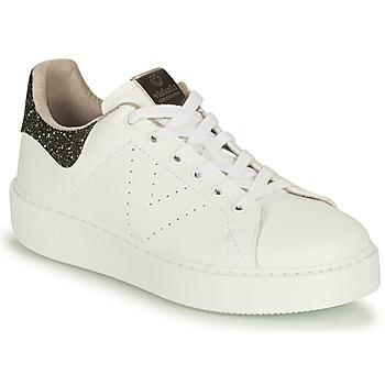Παπούτσια Γυναίκα Χαμηλά Sneakers Victoria UTOPIA VEGANA GLITTER Άσπρο / Black
