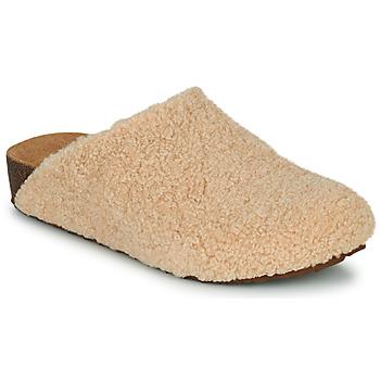 Παπούτσια Γυναίκα Παντόφλες Steve Madden VESA Beige