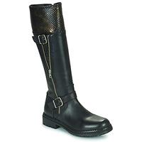 Παπούτσια Γυναίκα Μπότες για την πόλη Regard CACHY Black