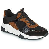 Παπούτσια Γυναίκα Χαμηλά Sneakers Regard KENO Black / Brown