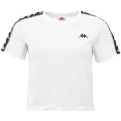 Υφασμάτινα Γυναίκα T-shirt με κοντά μανίκια Kappa Inula T-Shirt Blanc