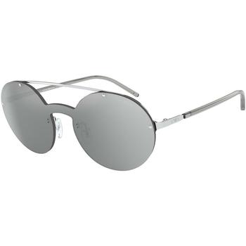 Ρολόγια & Kοσμήματα Γυναίκα óculos de sol Armani  Silver