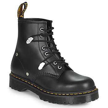 Παπούτσια Γυναίκα Μπότες Dr Martens 1460 BEX STUD Black