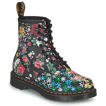 Παπούτσια Γυναίκα Μπότες Dr Martens 1460 PASCAL Black / Multicolour