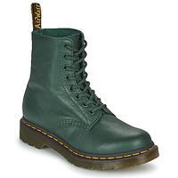 Παπούτσια Γυναίκα Μπότες Dr Martens 1460 PASCAL Green