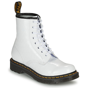 Παπούτσια Γυναίκα Μπότες Dr Martens 1460 W Άσπρο