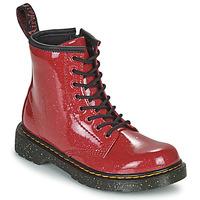 Παπούτσια Κορίτσι Μπότες Dr Martens 1460 J Red