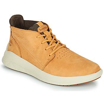 Παπούτσια Άνδρας Ψηλά Sneakers Timberland BRADSTREET ULTRA PT CHK Beige