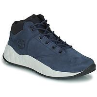 Παπούτσια Άνδρας Ψηλά Sneakers Timberland SOLAR WAVE SUPER OX Μπλέ