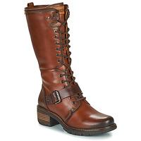 Παπούτσια Γυναίκα Μπότες για την πόλη Pikolinos SAN SEBASTIA Brown