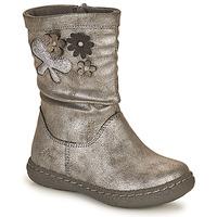 Παπούτσια Κορίτσι Μπότες για την πόλη Chicco CAROL Silver