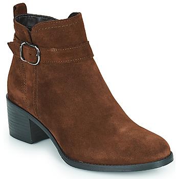 Παπούτσια Γυναίκα Μποτίνια Tamaris OFFICIE Brown