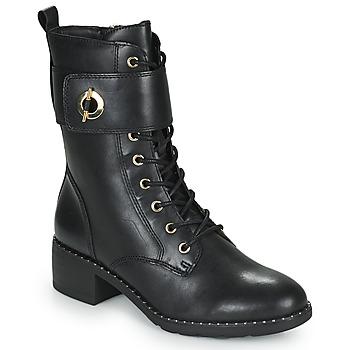 Παπούτσια Γυναίκα Μποτίνια Tamaris SEEDRE Black / Gold