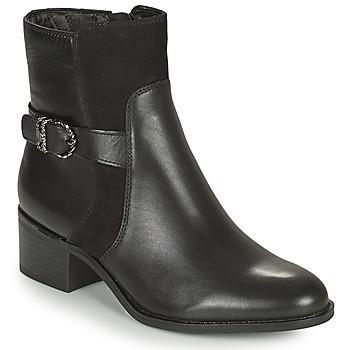 Παπούτσια Γυναίκα Μποτίνια Tamaris FADER Black