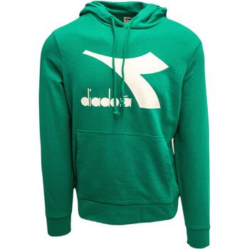 Υφασμάτινα Άνδρας Φούτερ Diadora Big Logo Πράσινος