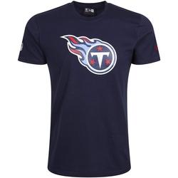 Υφασμάτινα Άνδρας T-shirt με κοντά μανίκια New-Era Tennessee Titans Team Logo Μπλε