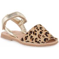 Παπούτσια Κορίτσι Σανδάλια / Πέδιλα Rio Menorca RIA MENORCA KID LEOPARDO Marrone