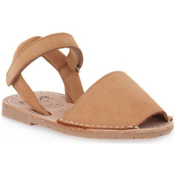 Παπούτσια Κορίτσι Σανδάλια / Πέδιλα Rio Menorca RIA MENORCA CUERO NABOUK Marrone