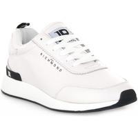 Παπούτσια Άνδρας Χαμηλά Sneakers Richmond BIANCO NAPPA Bianco