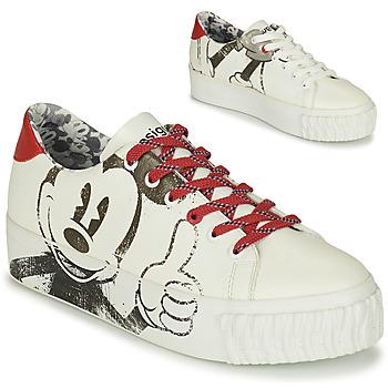 Xαμηλά Sneakers Desigual STREET MICKEY ΣΤΕΛΕΧΟΣ: Συνθετικό & ΕΠΕΝΔΥΣΗ: Ύφασμα & ΕΣ. ΣΟΛΑ: Ύφασμα & ΕΞ. ΣΟΛΑ: Καουτσούκ
