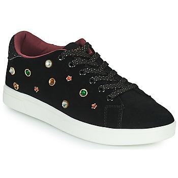 Παπούτσια Γυναίκα Χαμηλά Sneakers Desigual COSMIC JEWELS Black / Red