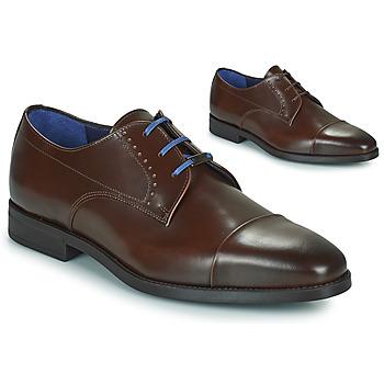 Παπούτσια Άνδρας Derby Azzaro GARONNE Cognac